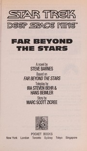 Cover of: Far beyond the stars