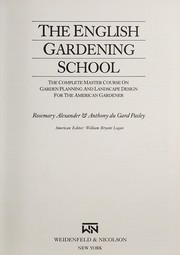 Cover of: The English Gardening School
