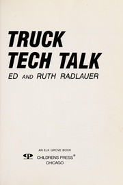 Cover of: Truck tech talk
