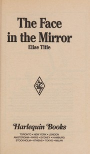 Cover of: Face In The Mirror