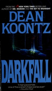Cover of: Darkfall | Dean Koontz