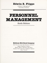 Cover of: Personnel management | Edwin B. Flippo