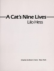 Cover of: A cat's nine lives | Lilo Hess
