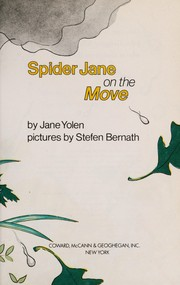 Cover of: Spider Jane on the move | Jane Yolen