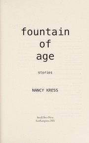 Cover of: Fountain of age