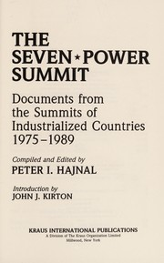 Cover of: The Seven-power summit