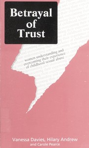Cover of: Betrayal of trust | Vanessa Davies