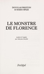 Cover of: Le monstre de Florence