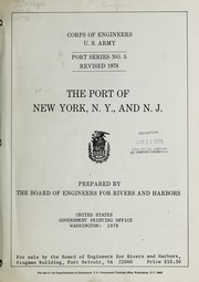 Cover of: The Port of New York, N.Y. and N.J. | United States. Board of Engineers for Rivers and Harbors