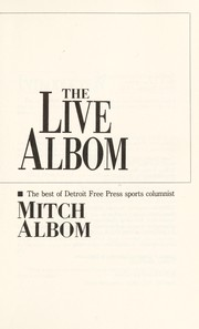 Cover of: The live Albom