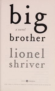Cover of: Big brother