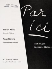 Cover of: Par Ici |