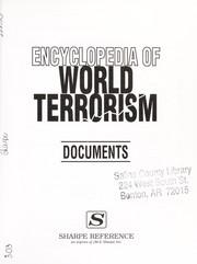 Cover of: Encyclopedia of world terrorism