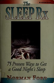 Cover of: The sleep Rx | Ford, Norman D.