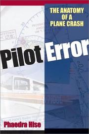 Cover of: Pilot Error