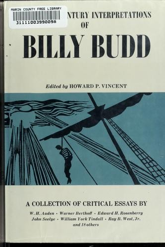 Twentieth century interpretations of Billy Budd by Howard Paton Vincent