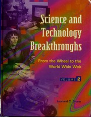 Cover of: Science and technology breakthroughs | Leonard C. Bruno