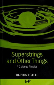 Cover of: Superstrings and other things | Carlos I. Calle