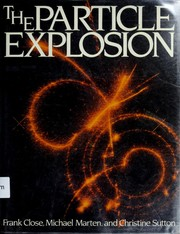 Cover of: The particle explosion