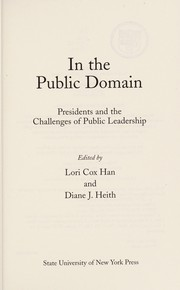 Cover of: In the public domain