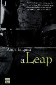 Cover of: A leap | Anna Enquist