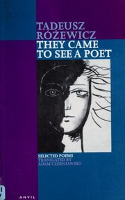Cover of: They came to see a poet | Tadeusz Różewicz