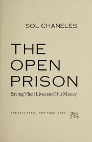 Cover of: The open prison