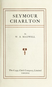 Cover of: Seymour Charlton
