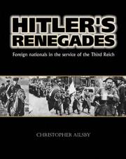Hitler's renegades by Christopher Ailsby