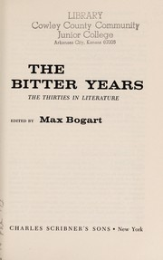Cover of: The Bitter Years