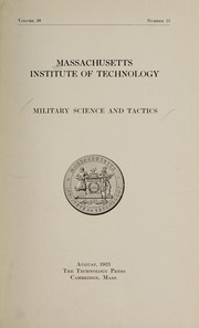 Cover of: Military science and tactics