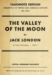 Cover of: The Valley of the Moon