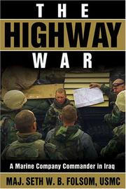 Cover of: The highway war | Folsom, Seth W. B
