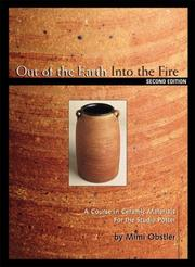 Cover of: Out of the earth, into the fire