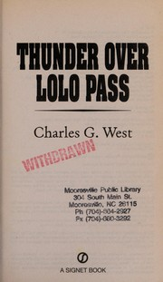 Cover of: Thunder over Lolo Pass