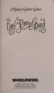 Cover of: The day the parrot died | Nancy Gotter Gates