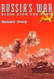Cover of: Russia's war: blood upon the snow