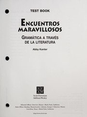 Cover of: Encuentros Marvillosos |