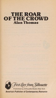 Cover of: Roar Of The Crowd | Alan Thomas