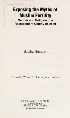 Exposing the myths of Muslim fertility by Sabiha Hussain