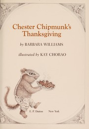 Cover of: Chester Chipmunks