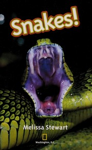 Cover of: Snakes! | Melissa Stewart