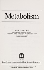 Cover of: Metabolism