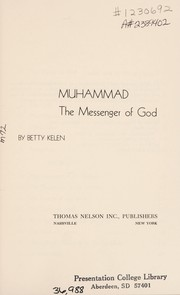 Cover of: Muhammad | Betty Kelen