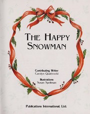 Cover of: The happy snowman