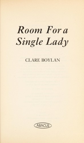 Room for a single lady by Clare Boylan