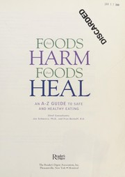 Cover of: Foods that harm, foods that heal |