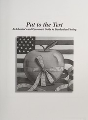 Cover of: Put to the Test
