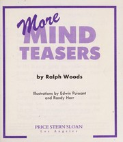 Cover of: More Mind Teasers | Ralph Woods
