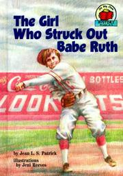 Cover of: The girl who struck out Babe Ruth